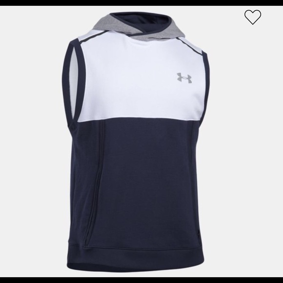 10e1ddf1879a10 Under Armour Threadborne Sleeveless Hoodie